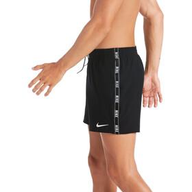 "Nike Swim Logo Tape Racer 5"" Volley Shortsit Miehet, black"